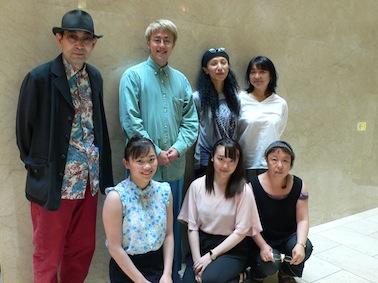 幸乃さんと真李さんも入賞ー木原浩太先生と一緒に。